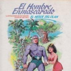 Cómics: EL HOMBRE ENMASCARADO. EL HÉROE DEL OLAN. Lote 141739246