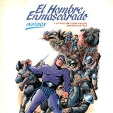 Cómics: EL HOMBRE ENMASCARADO-2: INVASIÓN (BURU LAN, 1983) DE RAY MOORE Y LEE FALK. Lote 142387542