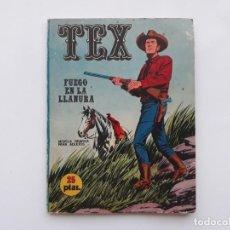 Cómics: TEX- FUEGO EN LA LLANURA - Nº 17 - BURU LAN - 1971. Lote 142906754