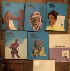 Cómics: 7 TOMOS EL HOMBRE ENMASCARADO/ HEROES DEL COMIC -BURU LAN. Lote 143401158