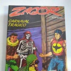Cómics: COMIC - ZAGOR Nº 17 CARNAVAL TRÁGICO - 1984 - BUEN ESTADO. Lote 143712582