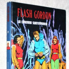 Cómics: FLASH GORDON (COL.HÉROES DEL CÓMIC). TOMO IV: LA CAVERNA SUBTERRANEA. BURULAN. Lote 144162210