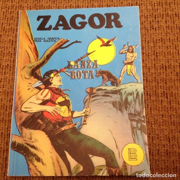 ZAGOR BURU LAN NUMERO SEIS (Tebeos y Comics - Buru-Lan - Zagor)