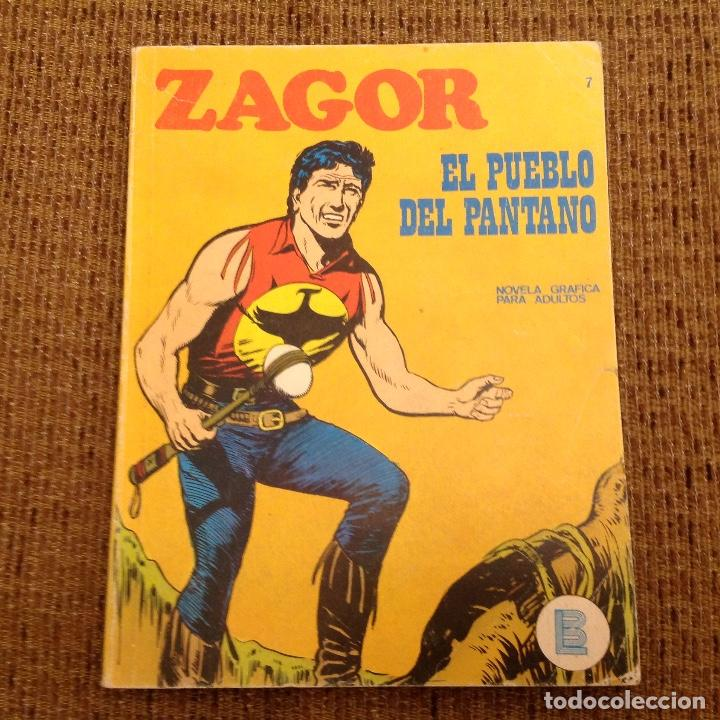 ZAGOR BURU LAN NUMERO SIETE (Tebeos y Comics - Buru-Lan - Zagor)