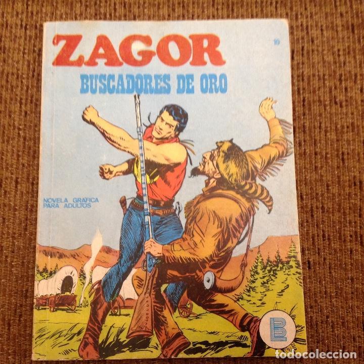 ZAGOR BURU LAN NUMERO DIEZ (Tebeos y Comics - Buru-Lan - Zagor)