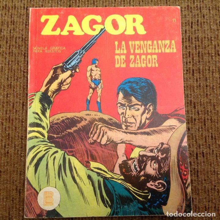 ZAGOR BURU LAN NUMERO ONCE (Tebeos y Comics - Buru-Lan - Zagor)