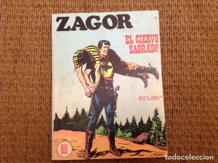 ZAGOR BURU LAN NUMERO DIECISIETE (Tebeos y Comics - Buru-Lan - Zagor)