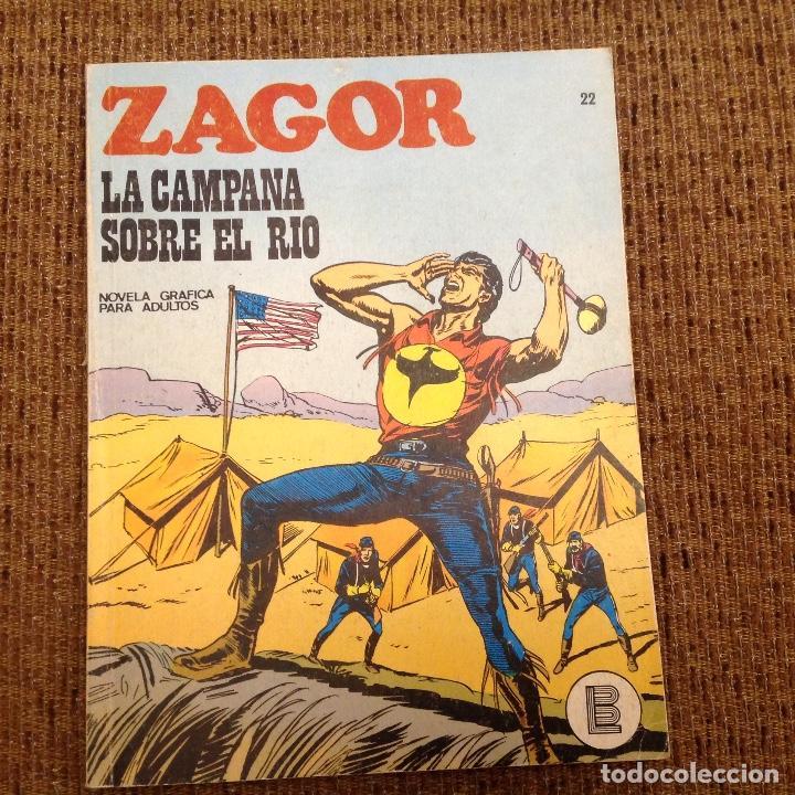 ZAGOR BURU LAN NUMERO VEINTIDOS (Tebeos y Comics - Buru-Lan - Zagor)