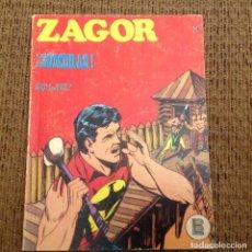 Cómics: ZAGOR BURU LAN NUMERO VEINTICUATRO. Lote 144250610