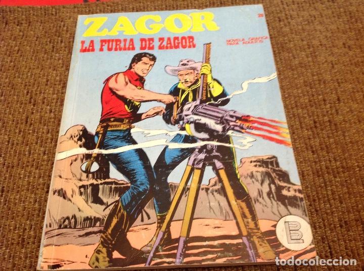 ZAGOR BURU LAN NUMERO VEINTIOCHO (Tebeos y Comics - Buru-Lan - Zagor)