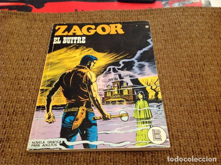 ZAGOR BURU LAN NUMERO TREINTA (Tebeos y Comics - Buru-Lan - Zagor)