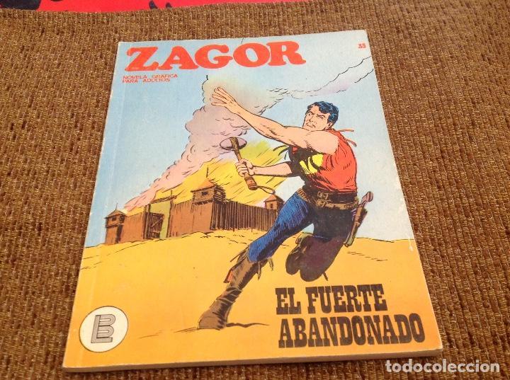 ZAGOR BURU LAN NUMERO 33 (Tebeos y Comics - Buru-Lan - Zagor)