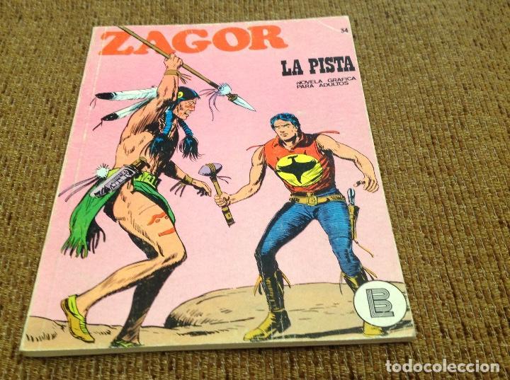 ZAGOR BURU LAN NUMERO 34 (Tebeos y Comics - Buru-Lan - Zagor)