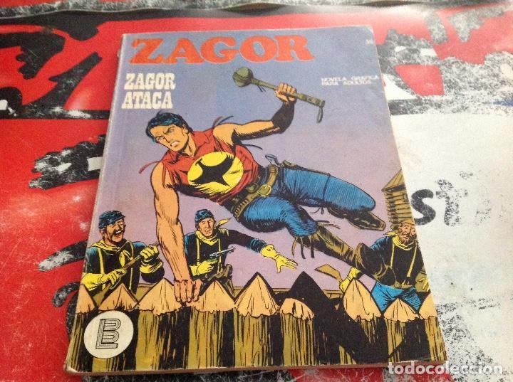 ZAGOR BURU LAN NUMERO 36 (Tebeos y Comics - Buru-Lan - Zagor)