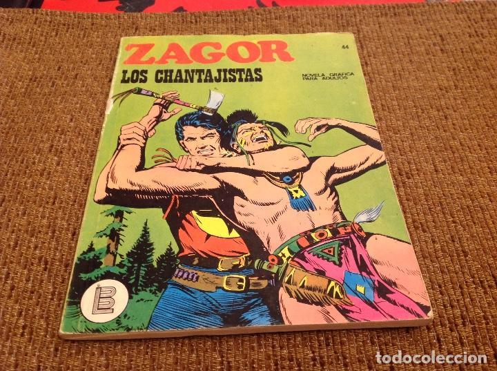 ZAGOR BURU LAN NUMERO 44 (Tebeos y Comics - Buru-Lan - Zagor)