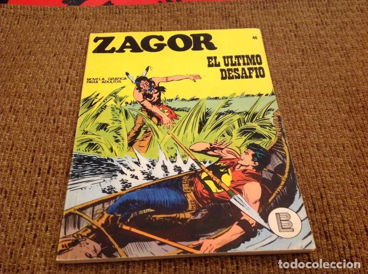 ZAGOR BURU LAN NUMERO 46 (Tebeos y Comics - Buru-Lan - Zagor)