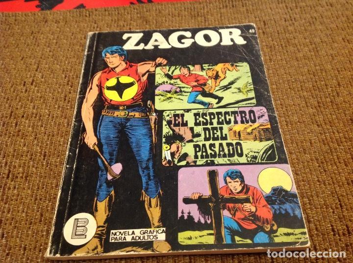 ZAGOR BURU LAN NUMERO 49 (Tebeos y Comics - Buru-Lan - Zagor)