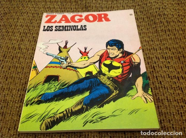 ZAGOR BURU LAN NUMERO 53 (Tebeos y Comics - Buru-Lan - Zagor)
