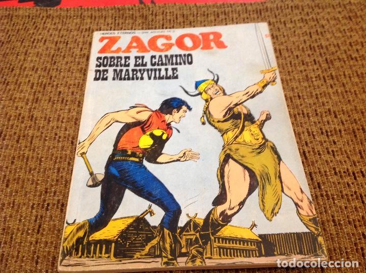 ZAGOR BURU LAN NUMERO 57 (Tebeos y Comics - Buru-Lan - Zagor)