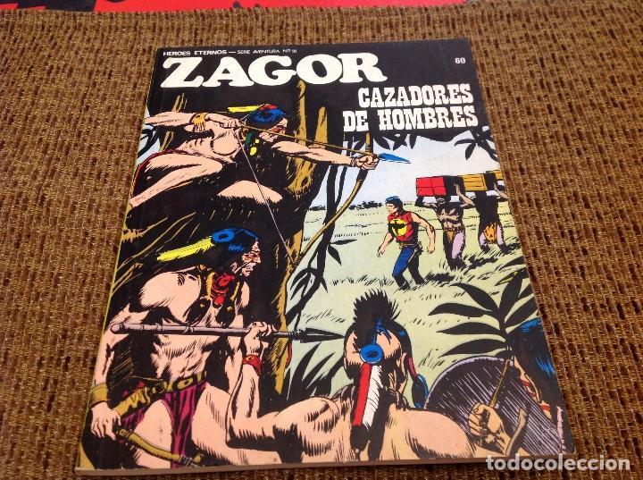 ZAGOR BURU LAN NUMERO 60 (Tebeos y Comics - Buru-Lan - Zagor)