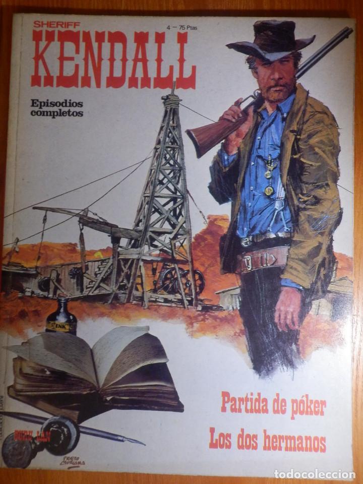 COMIC - EL SHERIFF KENDALL - Nº 4 - PARTIDA DE POKER (Tebeos y Comics - Buru-Lan - Otros)