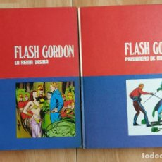 Cómics: FLASH GORDON LOTE 2 TOMOS 1 Y 2 BURU LAN MUY BUEN ESTADO. Lote 144600782