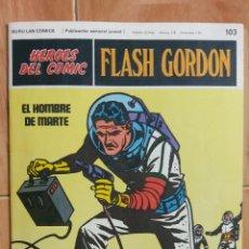 Cómics: FLASH GORDON DE BURU LAN FASCÍCULO 103 MUY BUEN ESTADO. Lote 144601198