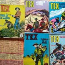 Cómics: LOTE DE LIBROS TEX BURU LAN. Lote 144666900