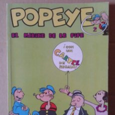 Cómics: POPEYE: EL MARINO DE LA PIPA. BIBLIOTECA BURU LAN POPEYE N°2 (BURU LAN, 1970).. Lote 144683133