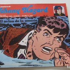 Cómics: JOHNNY HAZARD. Nº 11. EL AVIÓN DE LA MUERTE. BURU LAN 1974 BURULAN SDX11. Lote 145014122