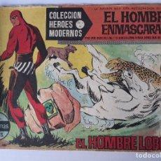 Cómics: EL HOMBRE ENMASCARADO Nº 1 EL HOMBRE LOBO. Lote 145097010