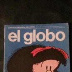 Cómics: GLOBO Nº 5-1973-MAFALDA-QUINO-OSKI-DICK TRACY-MORDILLO-EL CORTO MALTESE. Lote 145275882