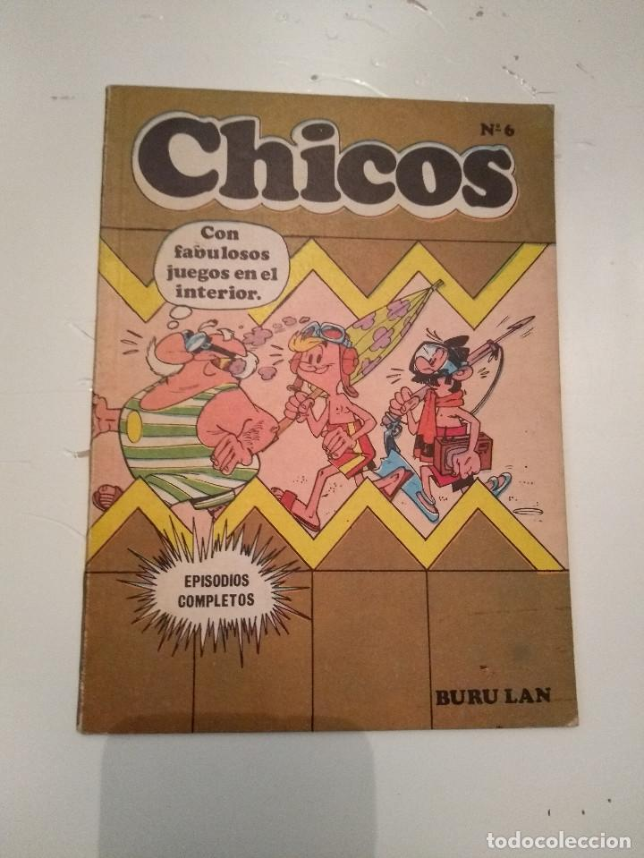 CHICOS Nº 6 - BURU LAN - INCOMPLETO (Tebeos y Comics - Buru-Lan - Otros)