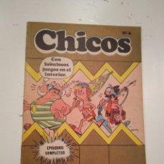 Cómics: CHICOS Nº 6 - BURU LAN - INCOMPLETO. Lote 145371702