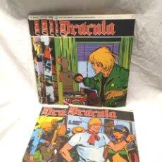 Cómics: DRÁCULA TOMO 4 DE 12 CÓMICS EDITORIAL BURU LAN AÑO 1972, BUEN ESTADO, DEL Nº 25 AL 36. Lote 145463806