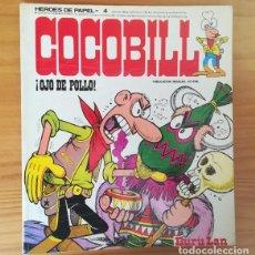 Comics - HEROES DE PAPEL 4 COCOBILL, OJO DE POLLO. BURU LAN 1973 JACOVITTI BURULAN - 145609950