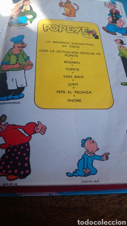 Cómics: 5 números de popeye nº7, 8,9,10,11. Ediciónes Buru lan 1971 - Foto 2 - 145897996