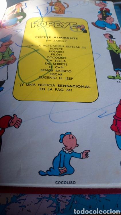 Cómics: 5 números de popeye nº7, 8,9,10,11. Ediciónes Buru lan 1971 - Foto 3 - 145897996