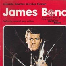 Cómics: COLECCION COMPLETA JAMES BOND BURULAN EDICIONES 30 EJEMPLARES SUELTOS. Lote 145993414