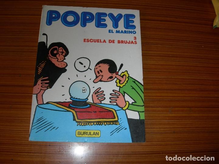 POPEYE Nº 3 EDITA BURULAN (Tebeos y Comics - Buru-Lan - Popeye)