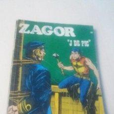 Cómics: ZAGOR - J DE PIG Nº 56 - 1973 EDITORIAL BURULAN BURU LAN COMPLETO. Lote 146332546