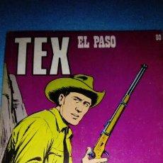 Cómics: TEX Nº 80 EL PASO BURULAN. Lote 146462202
