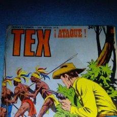 Cómics: TEX 91 ATAQUE.BURU LAN 1. Lote 146462226