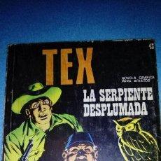 Cómics: TEX - Nº 43 - BURULAN - LA SERPIENTE DESPLUMADA. Lote 146462258