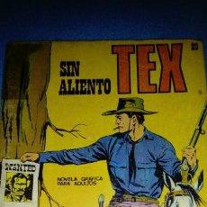 Cómics: TEX Nº 20. SIN ALIENTO. BURULAN. Lote 146462262