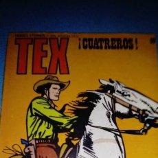 Cómics: TEX CUATREROS N,89 HEROES ETERNOS BURU LAN. Lote 146462294