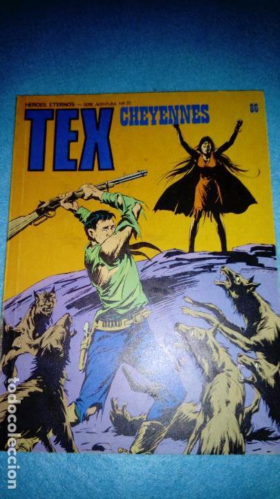 TEX 86: CHEYENNES, 1974, BURU LAN (Tebeos y Comics - Buru-Lan - Tex)