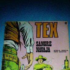Cómics: TEX - NUMERO 44 - SANGRE NAVAJA - BURULAN. Lote 146462338