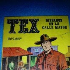Cómics: TEX Nº 15. DISPAROS EN LA CALLE MAYOR. BURU LAN. Lote 146462358
