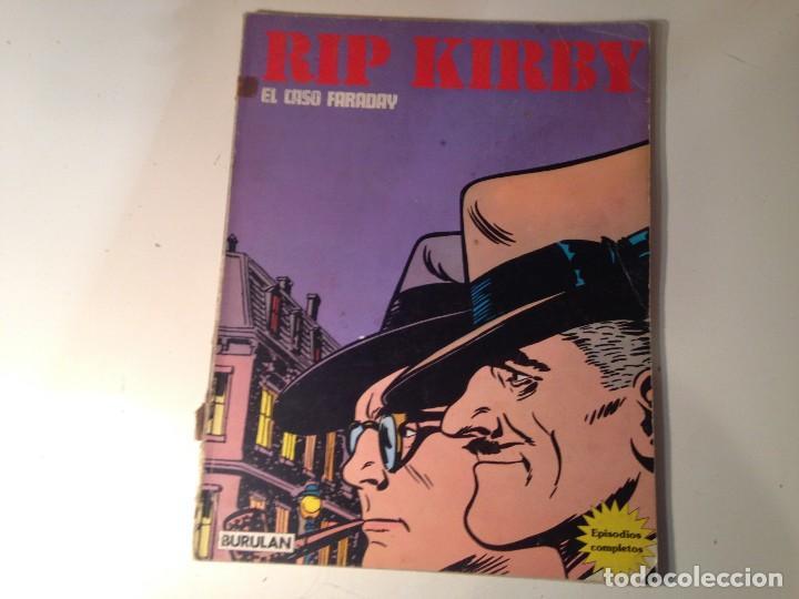 RIP KIRBY EL CASO FARADAY (Tebeos y Comics - Buru-Lan - Rip Kirby)
